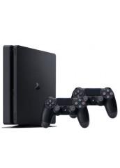 PS4 Slim + 1TB + 2 Pulteliai