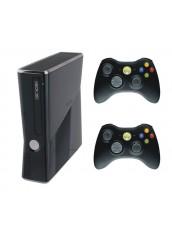 XBOX 360 + 250GB HDD +  Du pulteliai + RGH Atrišimas