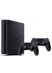 PS4 Slim + 500HDD + 2 Pulteliai