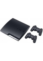 PS3 160HDD + Du pulteliai