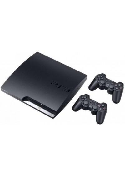 PS3 320HDD + Du pulteliai