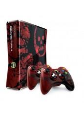 XBOX 360 + 250GB HDD + Du pulteliai + Kinect kamera + RGH Atrišimas Gears Of War 3 Limited Edition