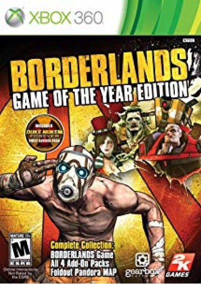 Borderlands GOTYE