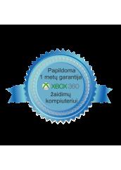 Papildoma 1 metų garantija žaidimų kompiuterio komplektui XBOX 360