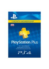 Playstation Plus 3 mėnesių narystė
