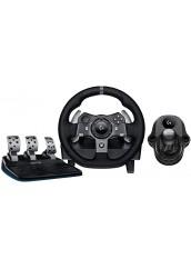 Logitech G920 (PC/Xbox One)  Vairas su pedalais ir pavarų svirtimi