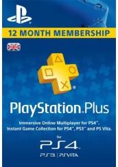 Playstation Plus 12 mėnesių narystė