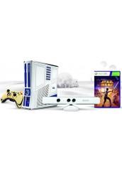 XBOX 360 + 500GB HDD + Du pulteliai + Kinect kamera + RGH Atrišimas Star War Edition