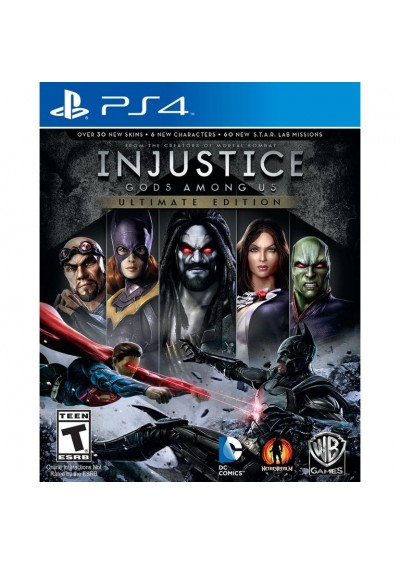 Injustice Gods Among Us: Ultimate Edition