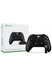Xbox One belaidis valdiklis su 3.5mm jungtimi + Belaidis Adapteris Windows 10