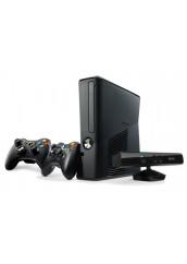 XBOX 360 + 500GB HDD + Du pulteliai + Kinect kamera + RGH Atrišimas