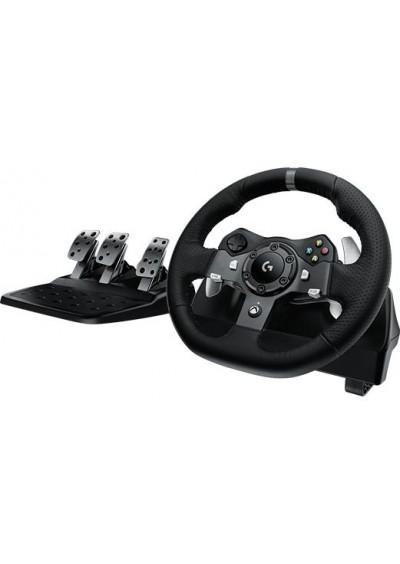 Logitech G920 (PC/Xbox One)  Vairas su pedalais