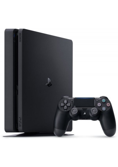 PS4 Slim + 1TB + 1 Pultelis