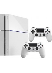 PS4 + 500HDD + 2 pulteliai
